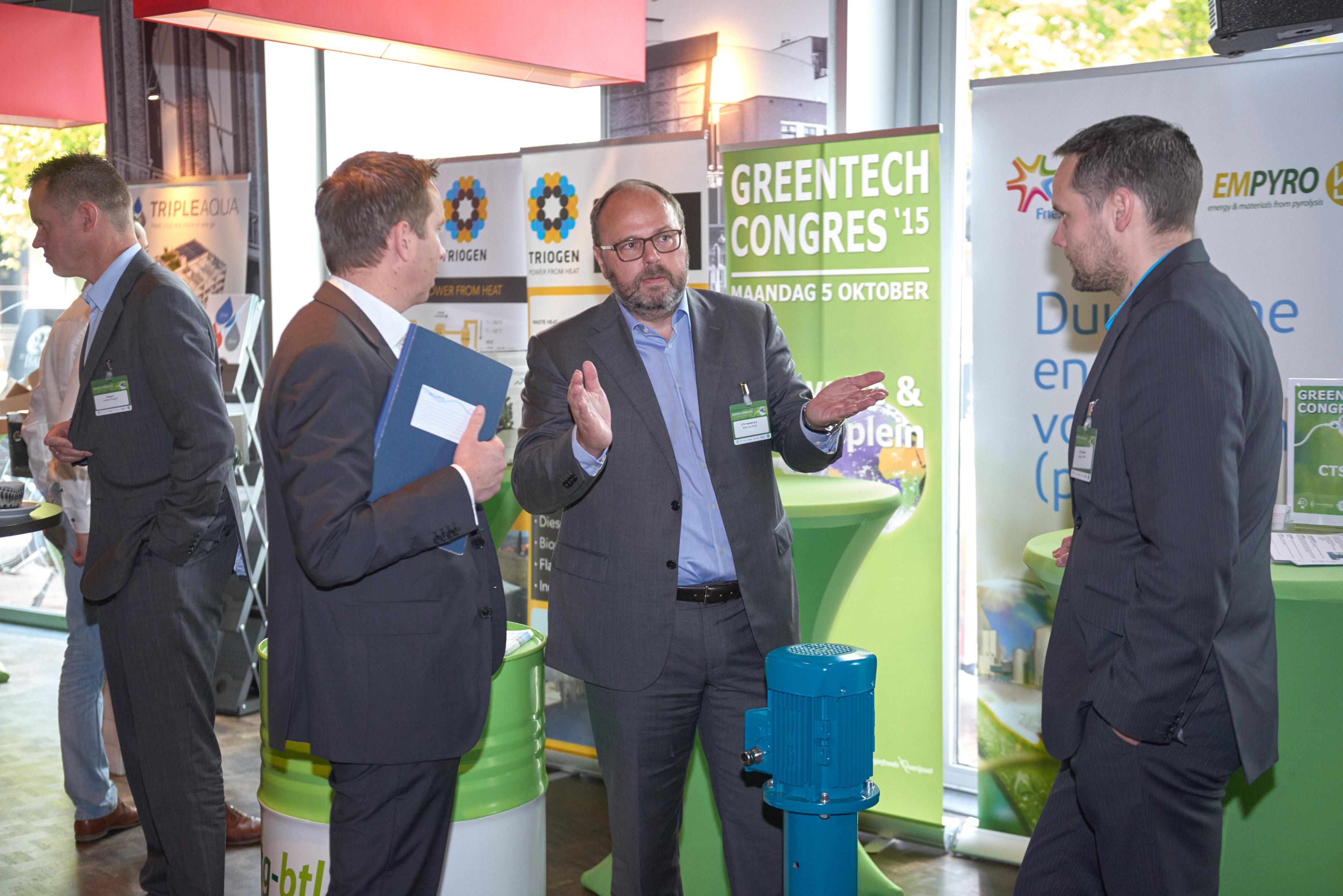 CTST aanwezig Greentech congres