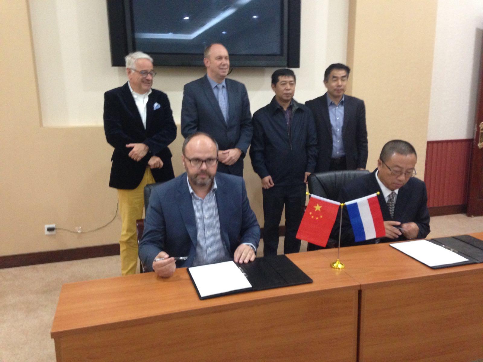 Delegatie uit China bezoekt Bouman